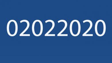 Photo of ¿Por qué el 02 de febrero de 2020 es un día capicúa?