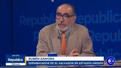 Photo of Rubén Zamora asegura que Milena Mayorga no está capacitada para ser embajadora en EE.UU.