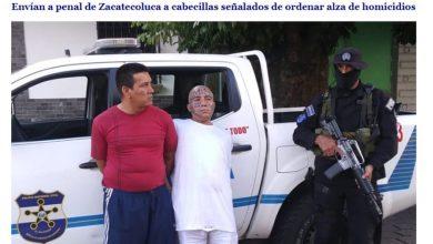 Photo of La PNC captura a dos peligrosos pandilleros de la MS-13 y los envía al penal de Zacatecoluca