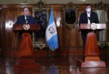 Photo of Guatemala: Presidente y vicepresidente piden diálogo ante crisis